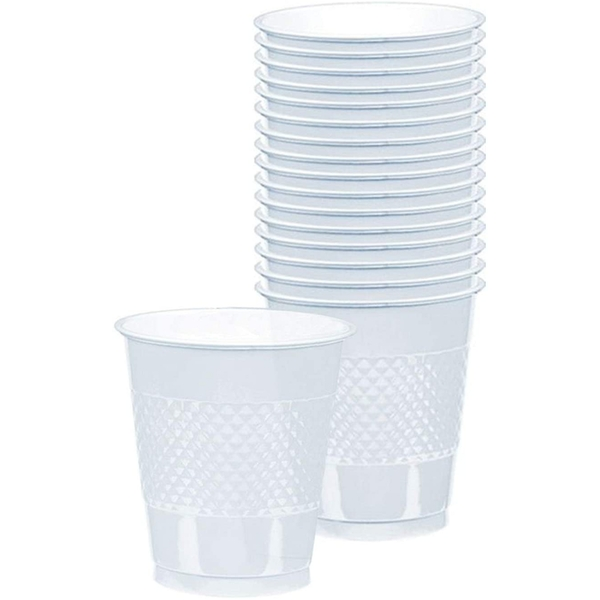 Amscan Plastic Cups 355ml (10 Pieces)