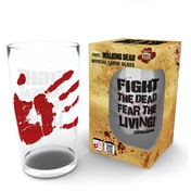 The Walking Dead Fight The Dead Large Glass