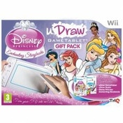 Ex-Display uDraw Tablet Including Disney Princess and uDraw Studio Game Wii Used - Like New