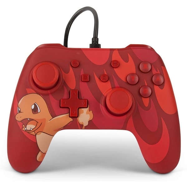 Blaze Charmander Wired Officially Licensed Controller For Nintendo Switch