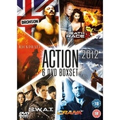 Bronson / Death Race 2 / Backdraft / 2012 / SWAT / Crank DVD