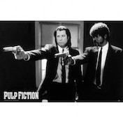Pulp Fiction Laminated Vincent Vega and Jules Winnfield Maxi Poster