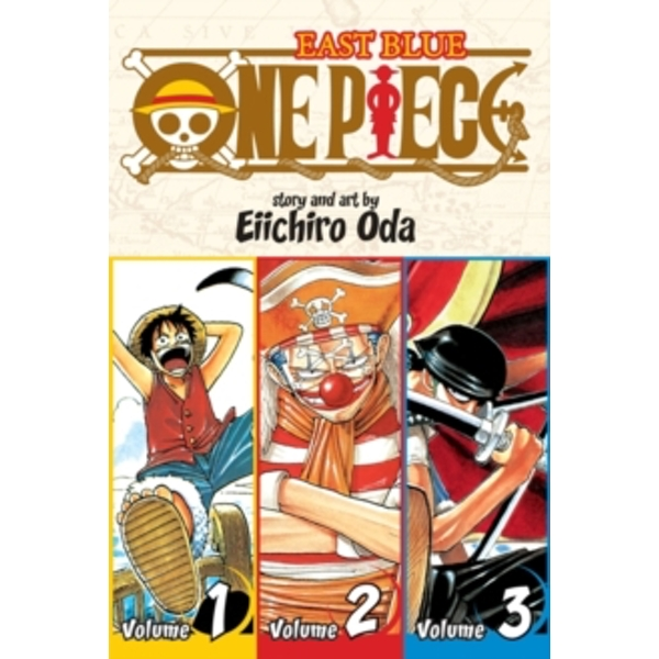 One Piece:  East Blue 1-2-3, Vol. 1 (Omnibus Edition) by Eiichiro Oda (Paperback, 2009)