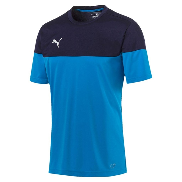Puma Junior ftblPLAY Training Shirt Azur-Peacoat 9-10 Years - Image 1