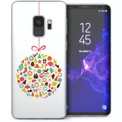 CASEFLEX SAMSUNG GALAXY S9 CHRISTMAS BAUBLE DECORATIONS CASE / COVER (3D)