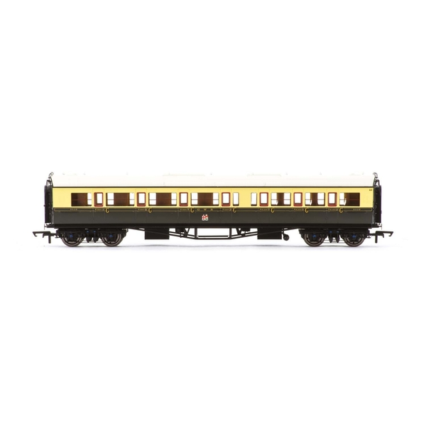 Hornby GWR Collett 'Bow Ended' Corridor Composite (L/H) 6528 Era 3 Model Train