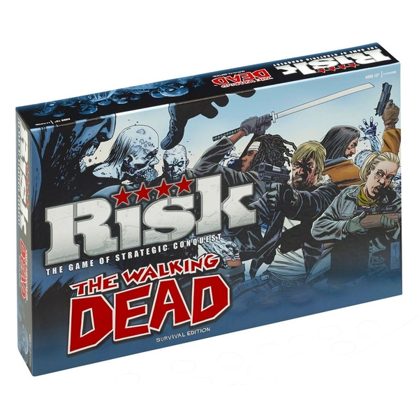 Image of Risk Board Game - The Walking Dead Edition