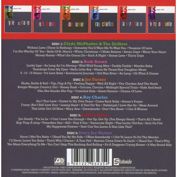 Atlantic Rock & Roll Music CD - Image 2