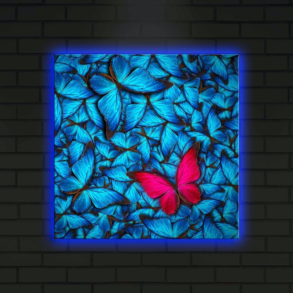 4040DACT-10 Multicolor Decorative Led Lighted Canvas Painting