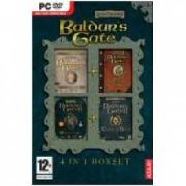 Baldurs Gate 4 in 1 Box Set Game PC - Image 1