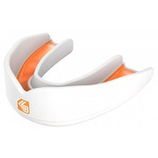 Shockdoctor Ultra Rugby Mouthguard Youths White/Orange