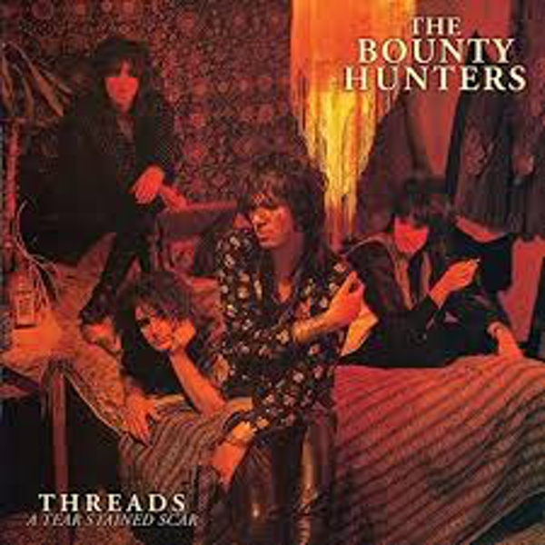 The Bounty Hunters ‎– Threads A Tear Stained Scar Red Vinyl