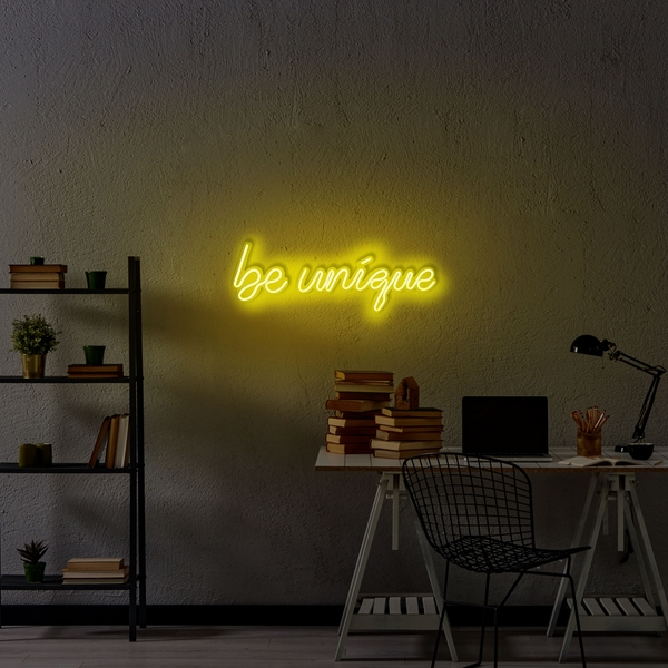 Be Unique - Yellow Yellow Wall Lamp