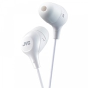 JVC HAFX38W Marshmallow Custom Fit In-Ear Headphones White
