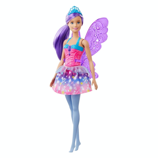 Barbie Dreamtopia - Fairy Doll with Purple Wings