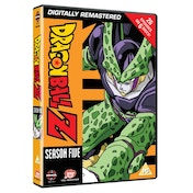 Dragon Ball Z Season 5 Episodes 140-165 DVD