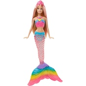 Ex-Display Barbie Rainbow Light Mermaid Used - Like New