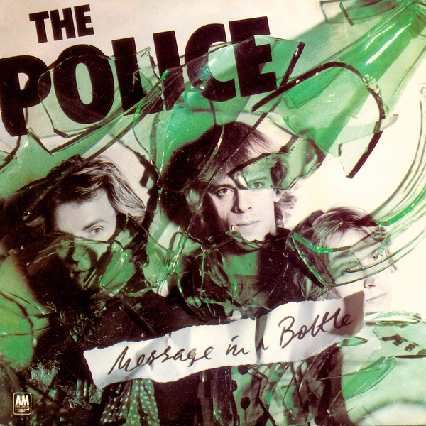 Police - Message In A Bottle Green / Blue  RSD 2019 Vinyl