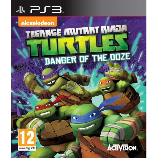 Teenage Mutant Ninja Turtles Danger of the Ooze PS3 Game
