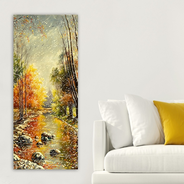 DKY17038537_50120 Multicolor Decorative Canvas Painting