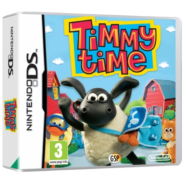 Timmy Time Game DS