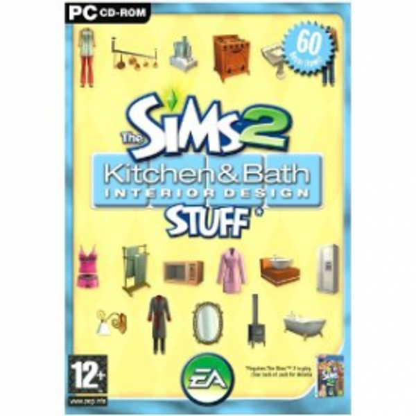 The Sims 2 Kitchen & Bathroom Interior Design Stuff Game PC