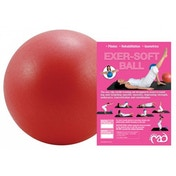 Yoga-Mad Exter-Soft Ball 9 inch Red