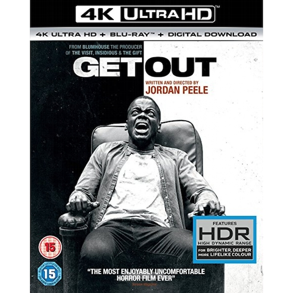 Get Out 4K UHD Blu-ray