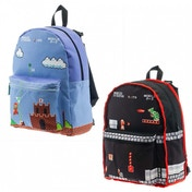 Nintendo Super Mario Bros. Classic Mario Gameplay Reversible Backpack