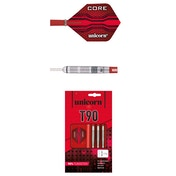 Unicorn T90 Core XL 90% Tungsten Darts - 23g