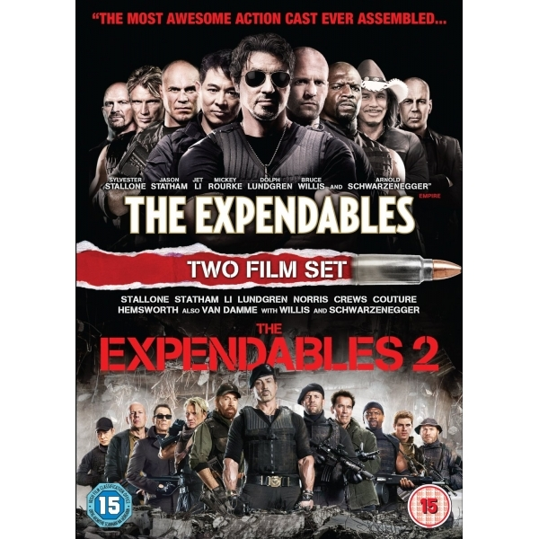 The Expendables / The Expendables 2 DVD