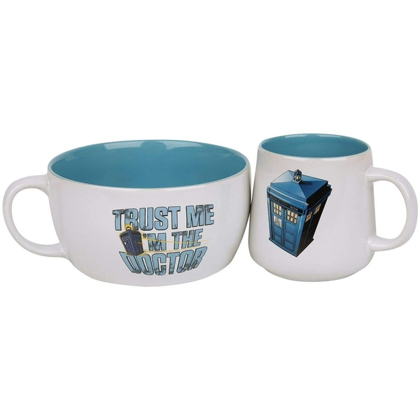 Doctor Who Tardis Ceramic Cup (White)