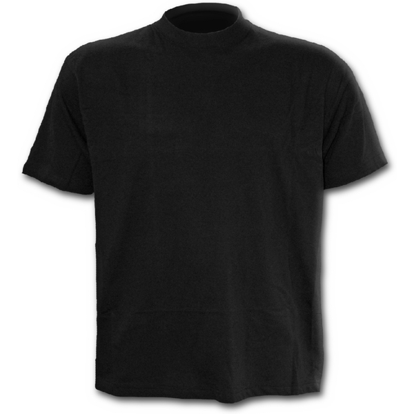 Urban Fashion Men's Large T-Shirt - Black