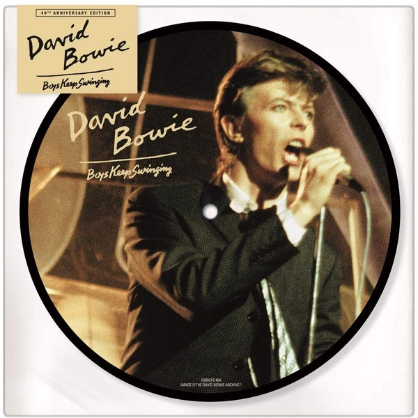 David Bowie - Boys Keep Swinging 40th Anniversary Edition Picture Vinyl