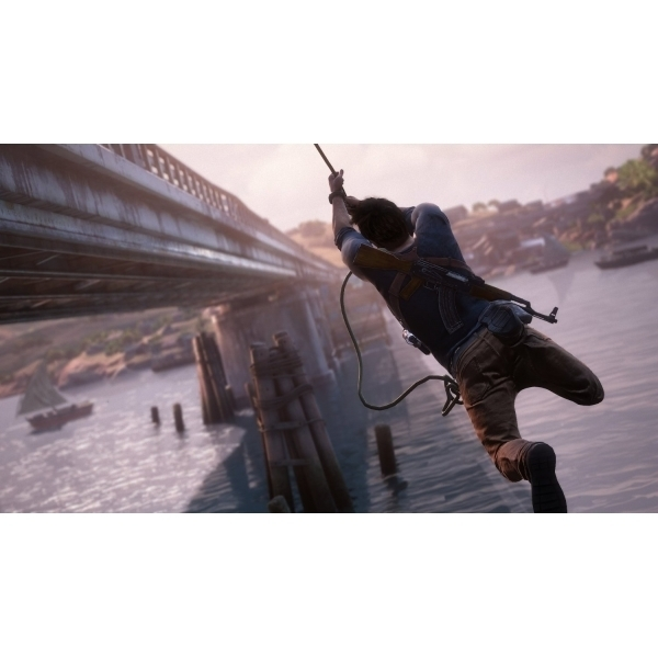 47cce002172 Uncharted 4 A Thief s End Launch Edition PS4 Game + Drake Sackboy Keyring -  Image 8