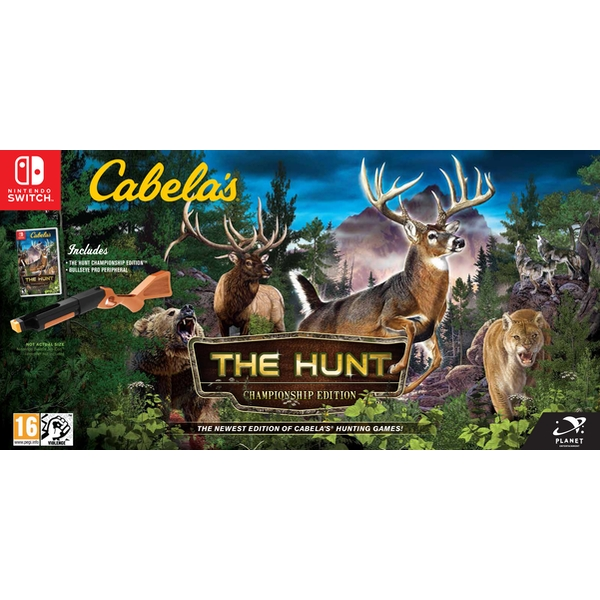 Cabela's The Hunt Championship Edition Nintendo Switch Game