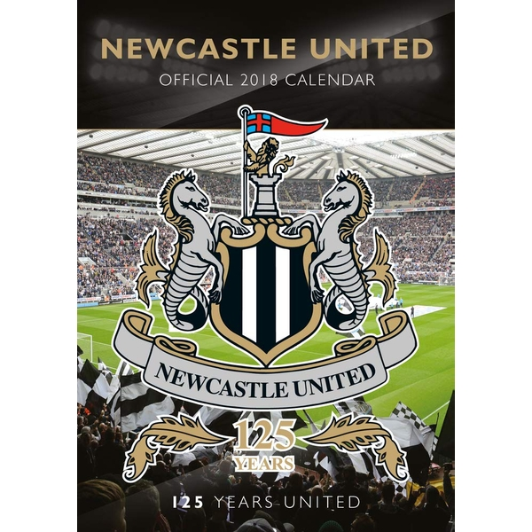 Newcastle Official 2019 Calendar - A3 Wall Calendar