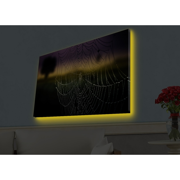 4570HDACT-003 Multicolor Decorative Led Lighted Canvas Painting