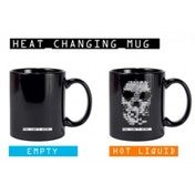 Watch Dogs Heat Changing Skull Mug