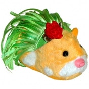 Zhu Zhu Pets Spring Hamster Outfit Hula Skirt and Rose Hair Clip