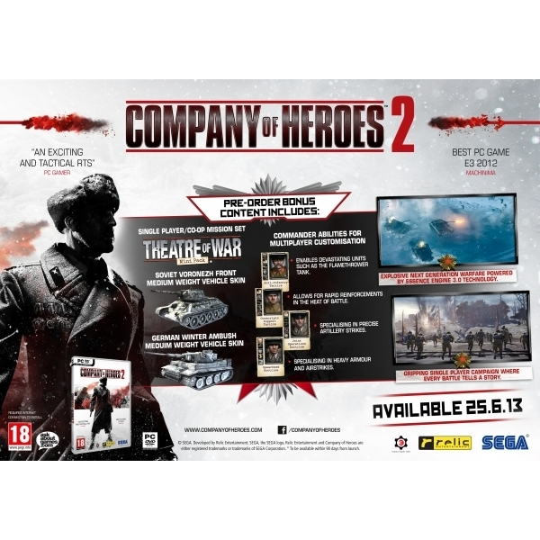 Company of Heroes 2 Game PC - Image 2