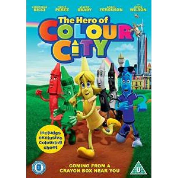 The Hero Of Colour City DVD