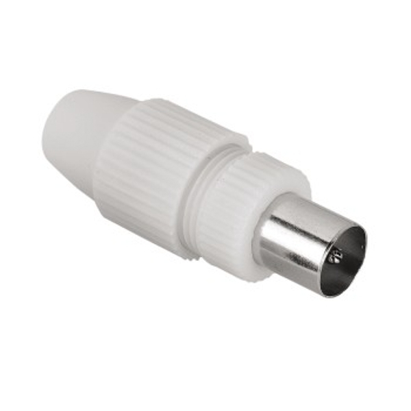 Hama Antenna Plug, coaxial, can be clamped