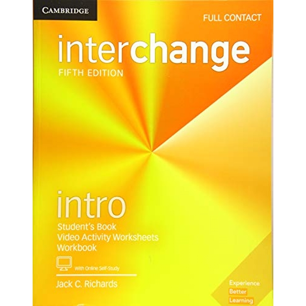 Interchange Intro Full Contact with Online Self-Study  Mixed media product 2017