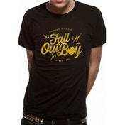 Fall Out Boy Bomb T-Shirt Large - Black