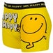 Mr Men Mr Happy Mens Boxer Shorts Small Yellow - Image 2