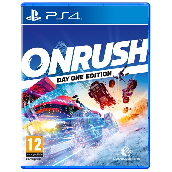 Onrush Day One Edition PS4 Game (Tombstone DLC)