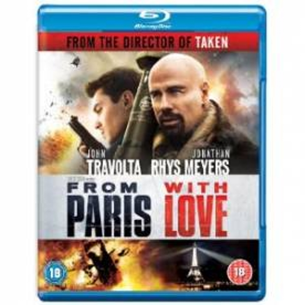 From Paris With Love Blu-Ray - Image 1