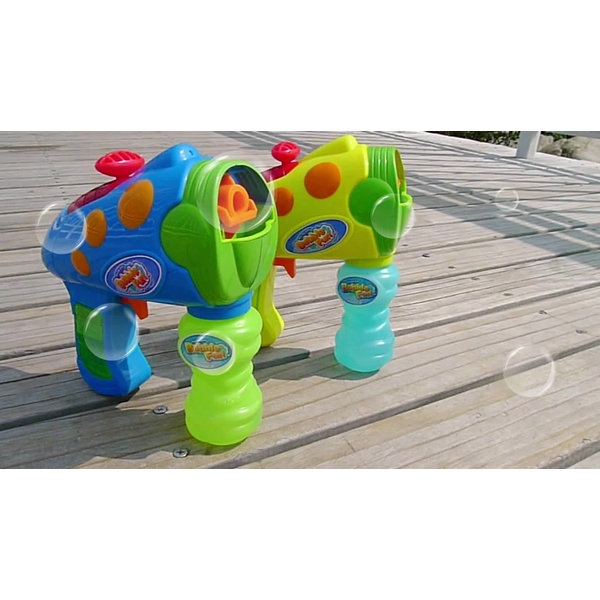Bubble Fun - 2 In 1 Bubble & Water Blaster & Squirter