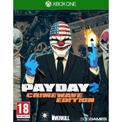 Payday 2 Crimewave Edition Xbox One Game with Hardtime Loot Bag DLC & Pin Badge